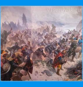 Сражение русских с монголо-татарами