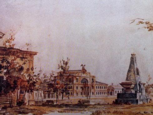Крепость Тверского княжества.