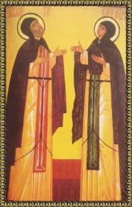 Муромские святые Петр и Феврония