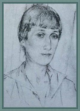 А.Ахматова в Слепнево