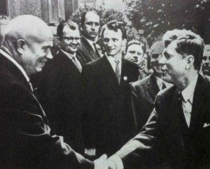 Н.С.Хрущев и Д.Кеннеди