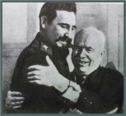 Н.Хрущев и Ф.Кастро