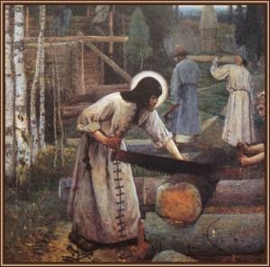 Святой праведник Сергий Радонежский