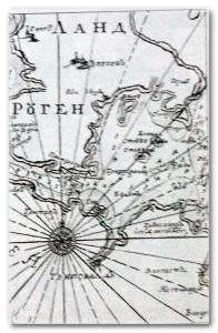 Фрагмен карты русских геодезистов