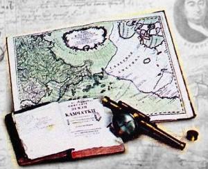 Создание первых карт России