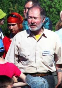 Зоолог Валентин Пажетнов