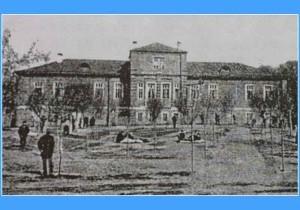 Старый корпус психиатрической больницы в Бурашево