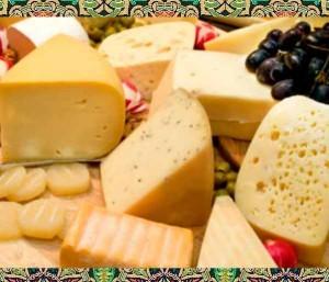 Различные виды сыров