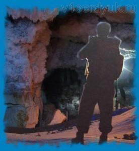 Вход в старицкие катакомбы