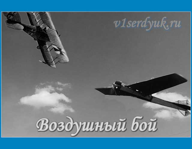 В_небе — аэропланы_Первой_мировой